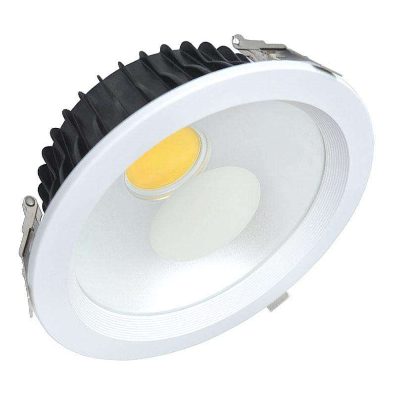 Downlight Led Round COB 30W - 225mm, Blanco cálido